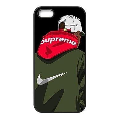 new york 6d96c 557b2 Custom Cases Supreme- iPhone 5 5s SE Case Cover: Amazon.co.uk ...