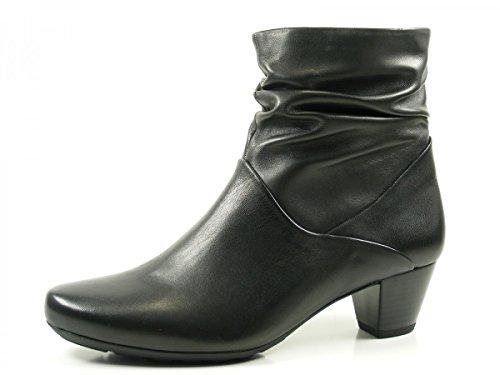 Gabor Shoes Comfort Sport, Botas para Mujer Negro (57 Schwarz Micro)