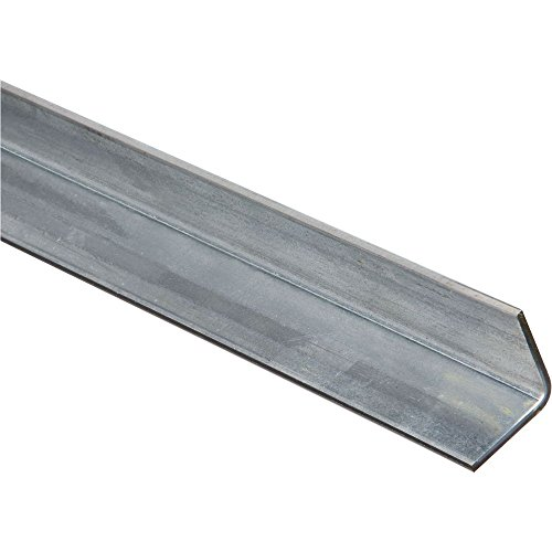 National Hardware N215-475 4060BC Solid Angle in Plain Steel