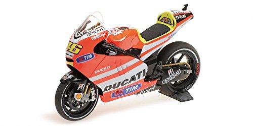 Minichamps Ducati Desmosedici (Valentino Rossi - MotoGP 2011) Diecast Model Motorcycle ()
