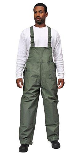 Galeton 7954-XXXL-GR 7954 Repel Rainwear 0.50 mm PVC 3-Layer Fishermans Rain Suit, Green, 3X-Large by Galeton