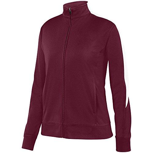 - Augusta Sportswear Women's Medalist Jacket 2.0 M Maroon/White