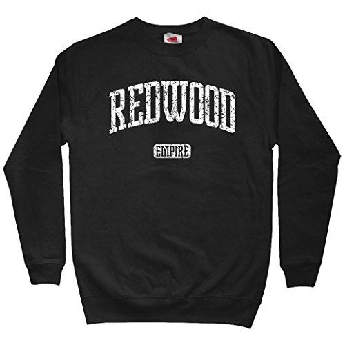 Smash Transit Men's Redwood Empire California Sweatshirt - Black, X-Large
