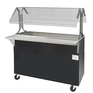 """Central Restaurant BMACP3-B-SB Refrigerated Food Bar - 3 Wells, 47-1/8""""W"""