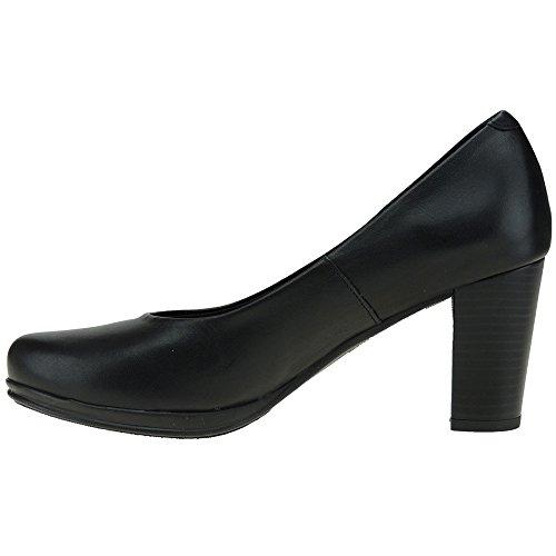 1149i Tacón Negro Salón Para 8 7 Cm Desiree Desireé Mujer Zapato TZ11w6