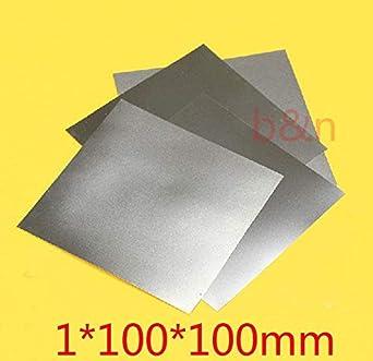 Ochoos 1mm100100 1mm Thickness Titanium Ti Plate Dynamic Sheet TA2