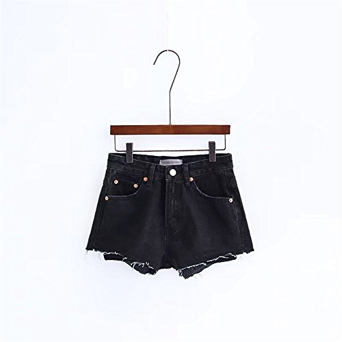 Le Distressed black Pantaloni Vintage JeansBreve Mendicante Sexy Shorts Jeans Signore waist Alta puro donna Vita Pantaloni Smx Pants colore Hot Denim high Jeans Shorts 7qgqdv