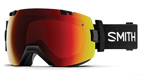 Smith Optics I/OX Goggle - Black Frame/ChromaPop Sun Red Mirror/ChromaPop Storm Rose - And Red Flash Black