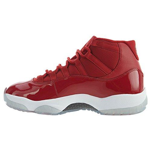 Jordan Xi 96 Cuir Comme Gagnez 378037 623 En Nike Rouge Brillant Chaussures Air Retro YFwE5x