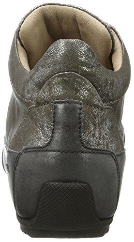 Candice Cooper Metal Parker, Sneaker a Collo Alto Donna Grau (Cdf)