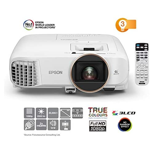chollos oferta descuentos barato Epson EH TW5650 Proyector Home Cinema 3D Full HD 1080p 2500 lúmenes Alto Contraste 60 000 1 Lámpara La