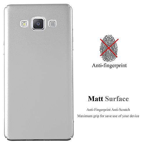 Cadorabo - Hard Cover Protección para >                                      Samsung Galaxy A5 (5) - Modelo 2015                                      < con Efecto Metálico Mate �?Cubierta Case Cover Funda Protectora Carcasa Dura Hard Case en METAL-ORO-ROSA METAL-PLATO