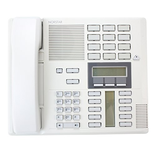Phone Nortel Speaker (Nortel NT8B20AF-93 M7310 Grey Norstar 10 Line Speaker Handset Business Phone)