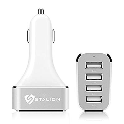 Stalion® 4-Port Multiple USB Car Charger