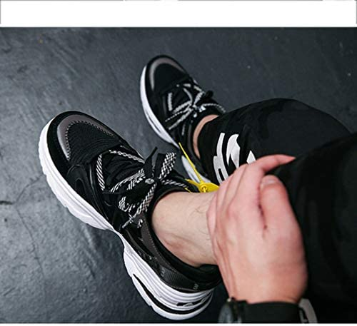カップル カジュアルシューズ メンズ レディース 厚底 スニーカー カラフル レースアップシューズ 大きいサイズ 低反発 衝撃吸収 クッション 通気性 歩きやすい 運動会 スポーツ会 男女兼用 厚底シューズ