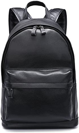 CPJ Genuine Leather Backpack Schoolbag product image