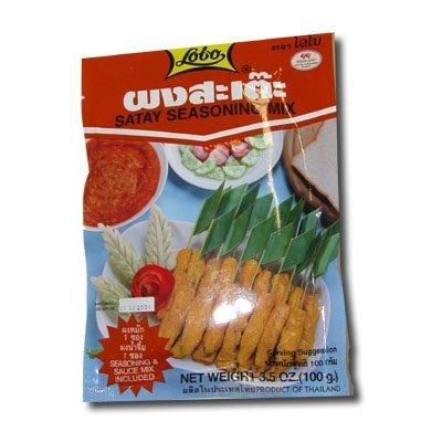 Lobo Satay Sauces Seasoning Mix 3.5oz. (Thai Chicken Spring Rolls)
