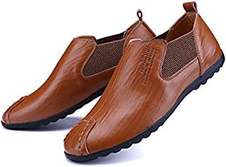 LOVDRAM Chaussures Hommes Automne Nouveaux Ensembles De Chaussures Hommes Chaussures De Mode Chaussures en Cuir Hommes LOVDM
