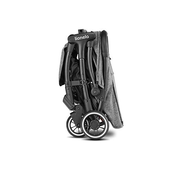 Lionelo Julie One passeggino leggero pieghevole compatto con zanzariera portabibite borsa per trasporto da 0 mesi fino… 7