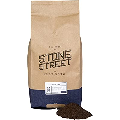 Stone Street Coffee Cold Brew Reserve Colombian Single Origin Coarsely Ground Coffee - 5 lb. Bag - Dark Roast by Stone Street Coffee Company