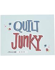 Kati Cupcake KC177 QUILT JUNKY GIFT NOTE CARD Notecard, Various