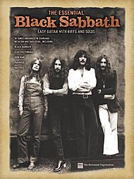 Hal Leonard The Essential Black Sabbath Easy Guitar Tab - Sheet Hal Music Leonard Electric