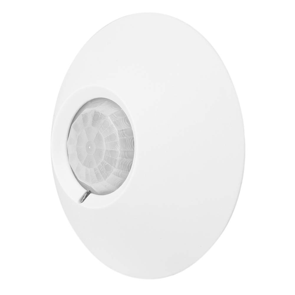 Amazon.com: Pir Motion Sensor, 12V Wired Indoor Top Ceiling Mounted 360 Degree Passive PIR Infrared Motion Detection Sensor Alarm, Low Noise, ...