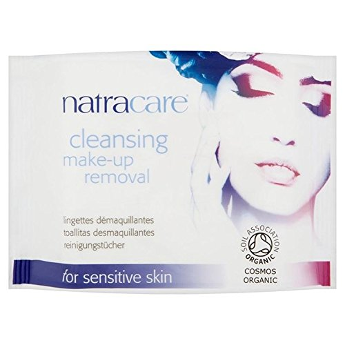 Natracare Organic Cleansing Make Up Removal Wipes 20 per pack (PACK OF 6)