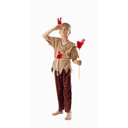 RG Costumes Native American Brave Costume, Brown, Large (Indian Couple Costume)