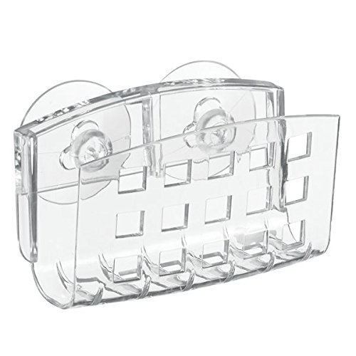 interDesign Suction Soap Cradle, 72 in. x 72 in. in, Clear - Interdesign Holder