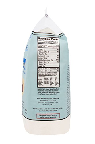 Bob's Red Mill Gluten Free 1-to-1 Baking Flour, 5 Pound by Bob's Red Mill (Image #5)
