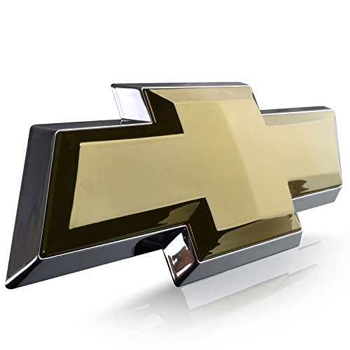 2007-2013 Silverado Chevrolet Chevy Tailgate Emblem Licensed LED Light Chevy BowTie logo Chrome Gold 6092