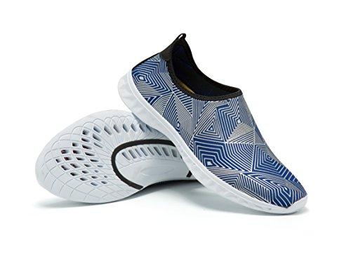 Quick Barefoot Aqua Women Shoes Water Men White Water AVADAR Blue Shoes Shoes Dry pqgZWw0
