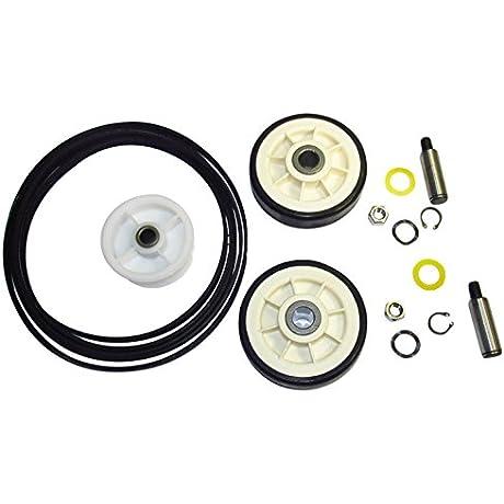 Maytag Dryer Roller Belt Pulley Repair Kit 33002535 12001541 6 3700340