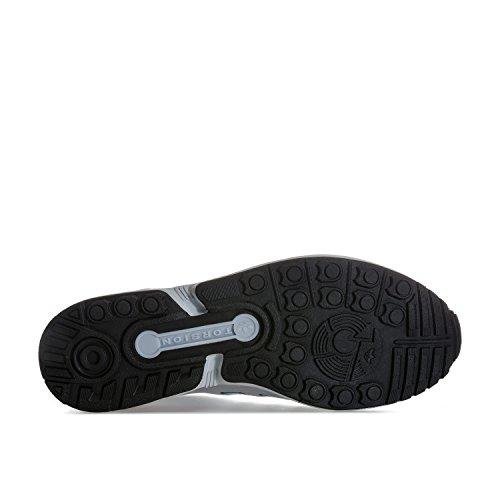 Adidas Originali Mens Originali Zx Flux Scarpe Da Ginnastica Us14 Argento