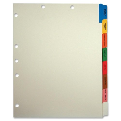 TAB54505 - Medical Chart Divider Sets