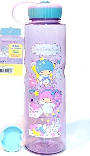 Daniel 1L Leakproof Little Twin Stars BPA Free Tritan Water Bottle w/Removable Inner Adapter Heat/Cold Resistant Plastic ()