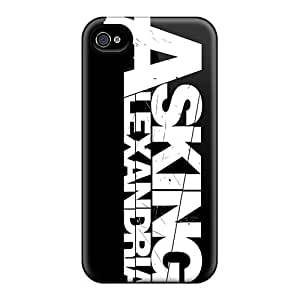 DannyLCHEUNG Iphone 4/4s Protective Hard Phone Covers Custom High Resolution Asking Alexandria Band Pictures [CEJ14761WDlU]