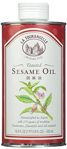 La Tourangelle Toasted Sesame Oil; 16.9ounce Unit (pack of 3); ()