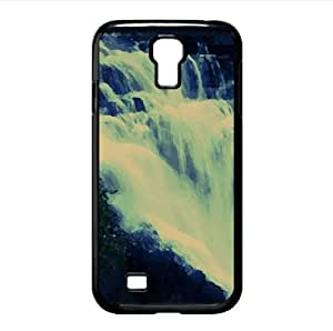 Fall Into Nature Watercolor style Cover Samsung Galaxy S4 I9500 Case (Waterfalls Watercolor style Cover Samsung Galaxy S4 I9500 Case)