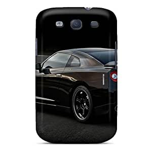 Awesome Phone Case Defender Tpu Hard Case Cover For Galaxy S3- Gtr Spec V Side Rear View