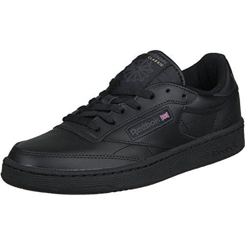 chollos oferta descuentos barato Reebok Club C 85 Zapatillas Hombre Negro Int Black Charcoal 42 5 EU