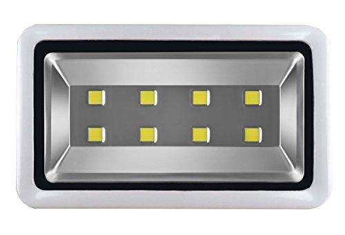 Outdoor 400W LED Flood Light Daylight White 6000K Super Bright 40,000 Lumens Backyard Lighting Fixtures, 50,000Hrs ()