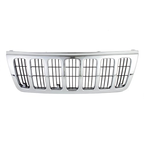 jeep cherokee chrome grill - 1