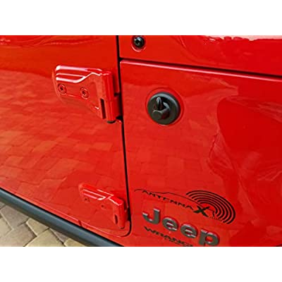 AntennaX Super Shorty (1.5-inch) Antenna for Jeep Wrangler JK JL and Gladiator JT: Automotive