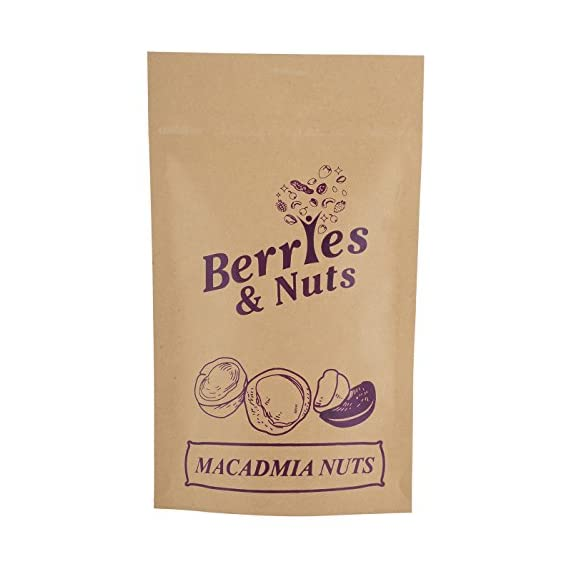 Berries and Nuts Premium Macadamia Nuts, 500g