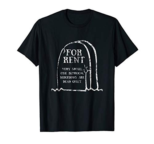 Tombstone For Rent Funny Halloween T-Shirt ()