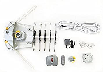 boostwaves wa2608 exteriores amplificada HDTV motorizado Kit de rotación con Kit de instalación: Amazon.es: Electrónica