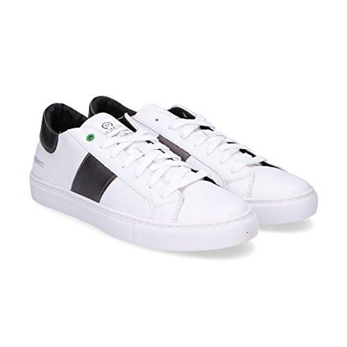 Womsh Mannen K270654 Witte Lederen Sneakers