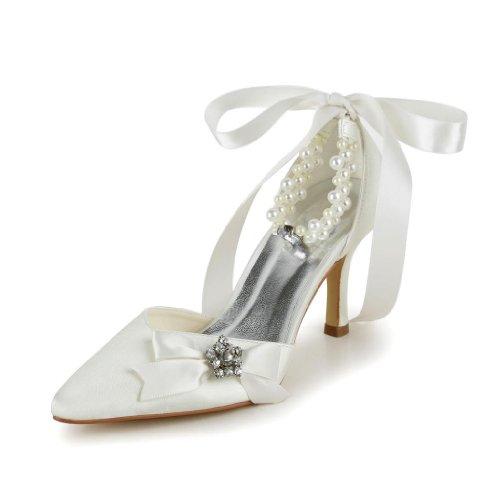 Wedding Tacco Scarpe Col Donna A313a Beige Sposa Jia ZAvdwqZ